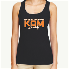 Load image into Gallery viewer, Middle Georgia KDM Society Ladies Tank (8 Colors)