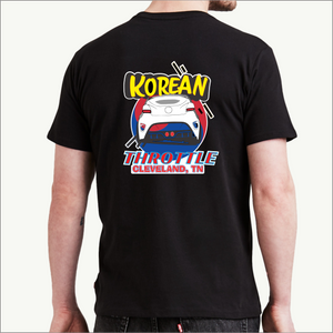 Korean Throttle T-Shirt (3 Style Variations)