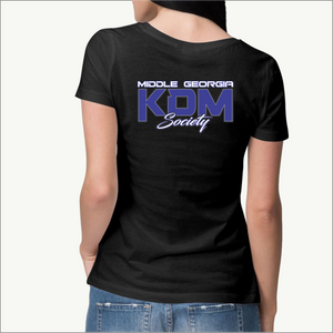 Middle Georgia KDM Society Ladies Tee (8 Colors)