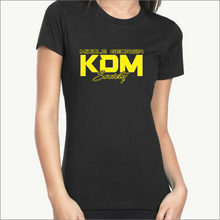 Load image into Gallery viewer, Middle Georgia KDM Society Ladies Tee (8 Colors)