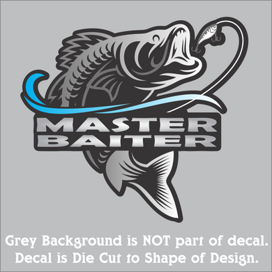 Master Baiter Decal (4