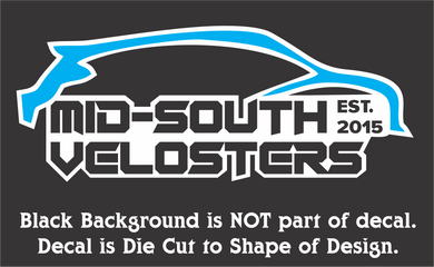 Mid-South Velosters Decals