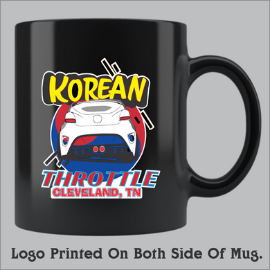 Korean Throttle Coffee Mug (11oz and 15oz available)