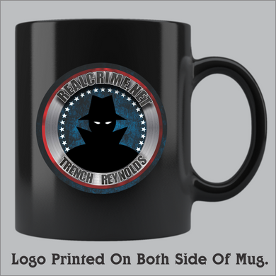 RealCrime.net Coffee Mug (11oz and 15oz available)