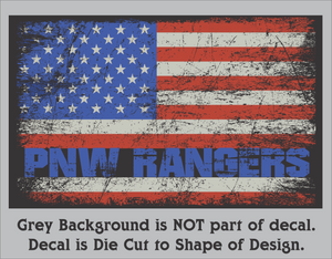 PNW Ranger Decals! (3 Sizes)