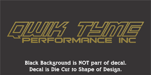 Qwik Tyme Performance Inc Decals