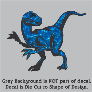 Clever Raptor - Hi-Performance Vinyl (18 Colors/Patterns & 2 Sizes)