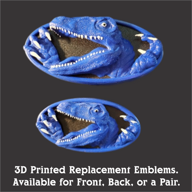 3D Printed Raptor Veloster Gen 1 Emblem Replacements