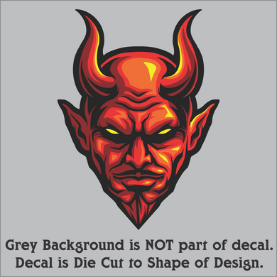 Devil Head Decal (4