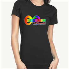 Load image into Gallery viewer, Spectrum Motorsports Ladies Tees (6 Color Combos)