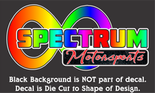 Load image into Gallery viewer, Spectrum Motorsports Decals (11 Color Combos/3 Sizes)