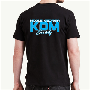 Middle Georgia KDM Society T-Shirts (8 Colors)