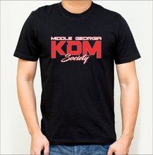 Load image into Gallery viewer, Middle Georgia KDM Society T-Shirts (8 Colors)