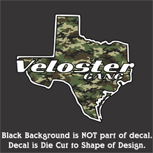 Load image into Gallery viewer, Texas Veloster Gang Full Color Decals (3 Sizes & 24 Designs)