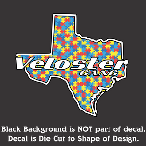 Texas Veloster Gang Full Color Decals (3 Sizes & 24 Designs)