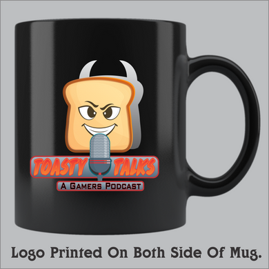 Toasty Talks - Gamers Podcast Coffee Mug (11oz and 15oz available)