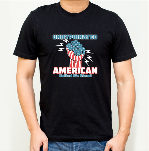 Unhyphenated  American T-Shirt