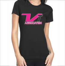 Load image into Gallery viewer, VT Association Ladies T-Shirt (8 Colors - 6 Sizes)