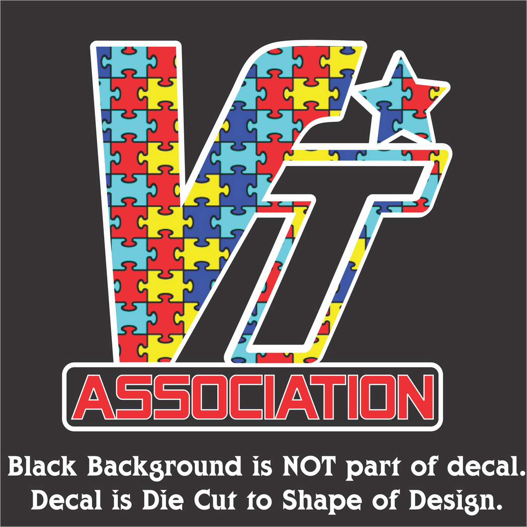 VT Association Autism Edition Decal (5