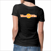 Load image into Gallery viewer, Vitamin C Mafia Ladies T-Shirt (Text & Slice)