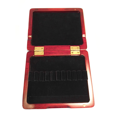 Wooden Oboe Reed Case (Red) – 10 Ribbon - Dolce Music Store