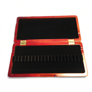 Wooden Oboe Reed Case (Red) – 20 Ribbon - Dolce Music Store