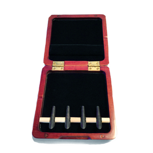 Wooden Bassoon Reed Case (Red) – 4 Mandrel - Dolce Music Store