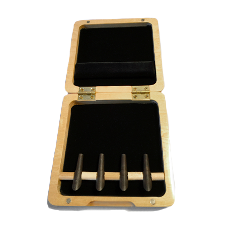 Wooden Bassoon Reed Case – 4 Mandrel - Dolce Music Store