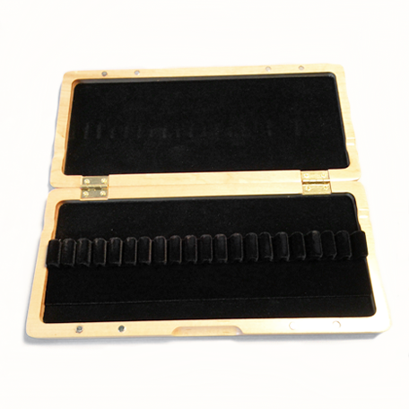 Wooden Oboe Reed Case – 20 Ribbon - Dolce Music Store