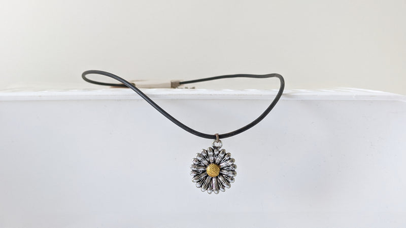Plain Black Charm Chokers