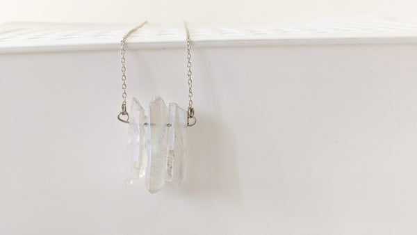Wire Wrapped + Bar Necklaces
