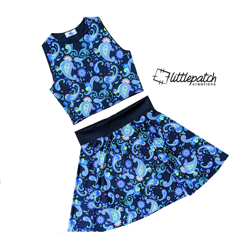 Design Your Own - High Neck Top + Skater Skirt