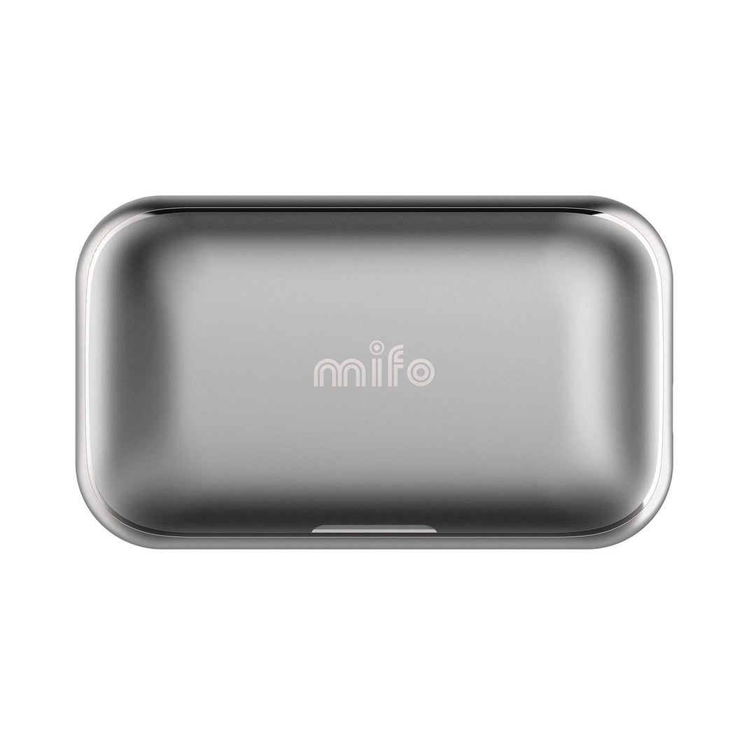 Mifo O5 Replacement Aluminum Charging Case - 2,600mAh or 100 Hours of Play Time