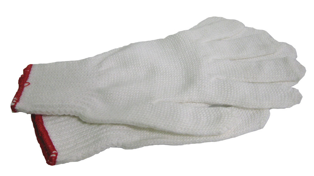 Nylon/Polyester Blend White Work Glove