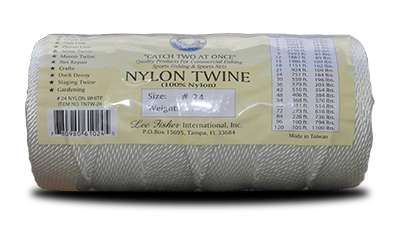 White Twisted Nylon Twine