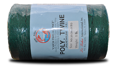 Green Twisted Polyethylene Twine