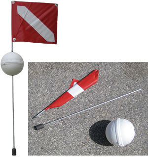 Diving Flag With Float