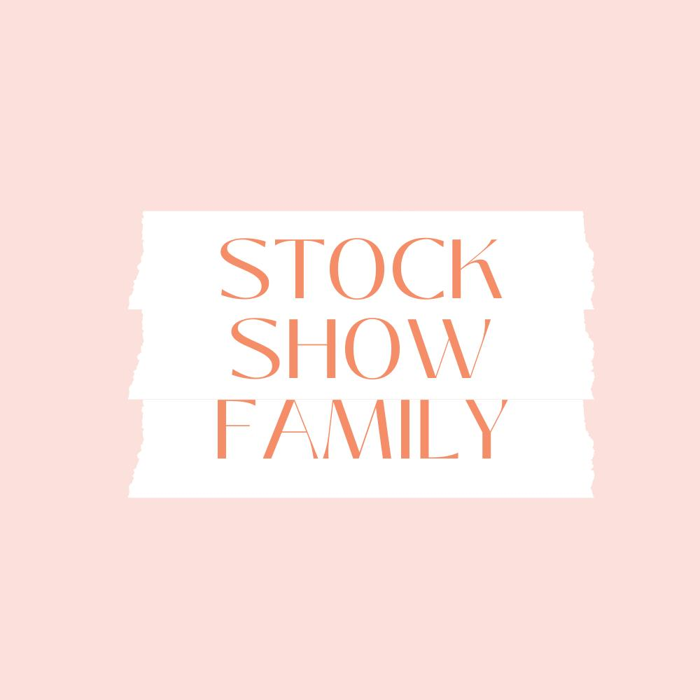 Stock Show Family Sublimation Tee's