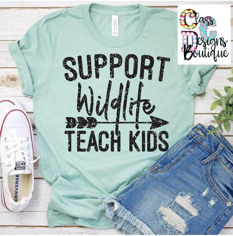 Support Wildlife, Teach Kids