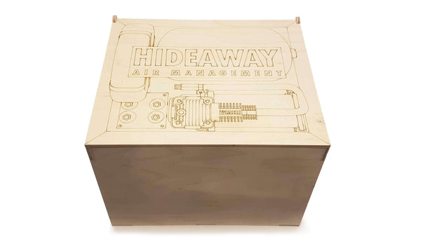 HYBRIDair Hideaway Air Management Kit-Stance Fittings-Stance Fittings | The Southern Stance Specialist