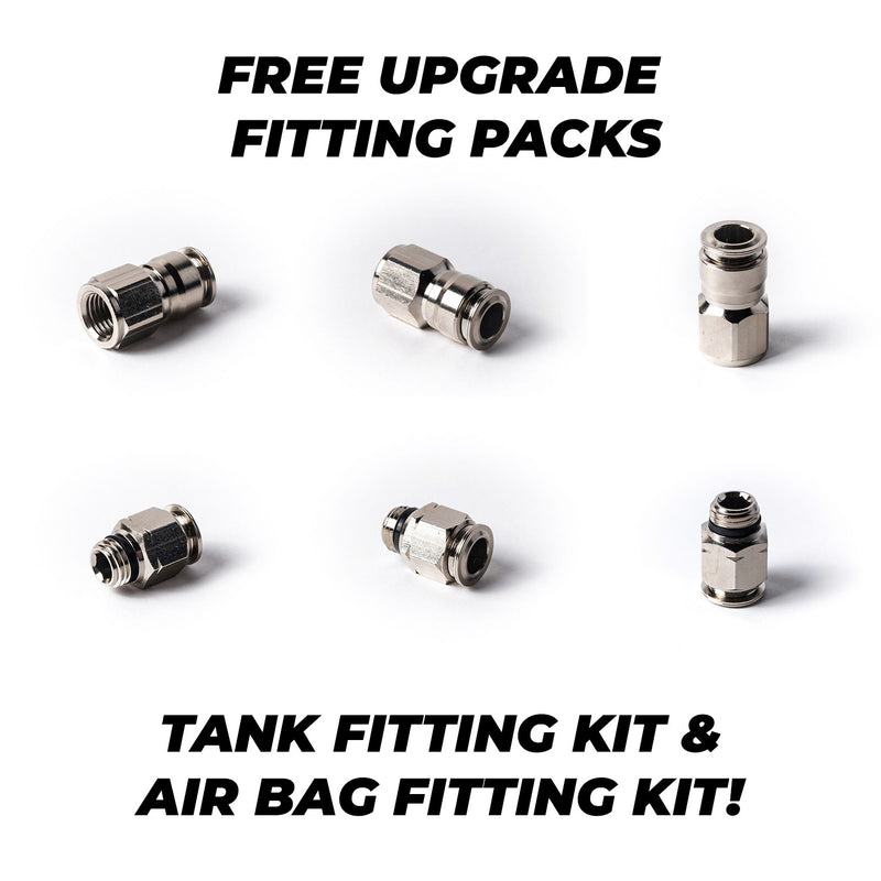 Air Lift Manual Management Package Audi A4/S4/RS4 B8 Air Ride Kit