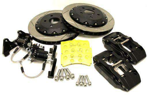 330mm 4 Pot Rear Brake Kit-Big Brake Kits-Forge Motorsport-Stance Fittings | The Southern Stance Specialist