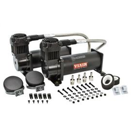 Viair 444c - Dual Air Compressor Upgrade for Full Airlift Kit Black Edition