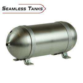 "Seamless Tanks Aluminium 1.338 Gallon 24"" Tank-Air Tanks-Seamless Tanks-Stance Fittings 