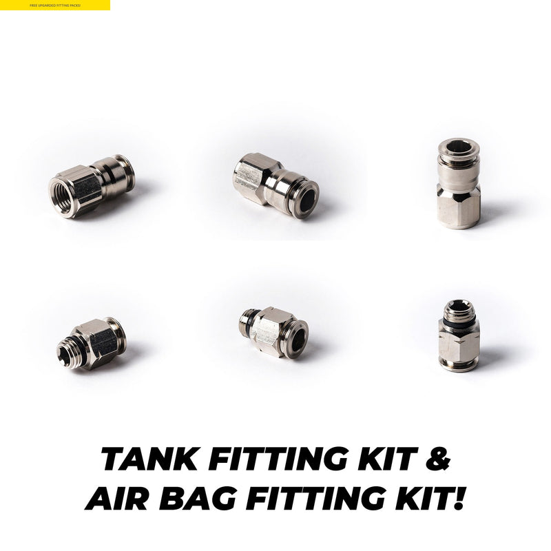 Air Lift Manual Management Package Audi A3/S3/RS3 8L Air Ride Kit