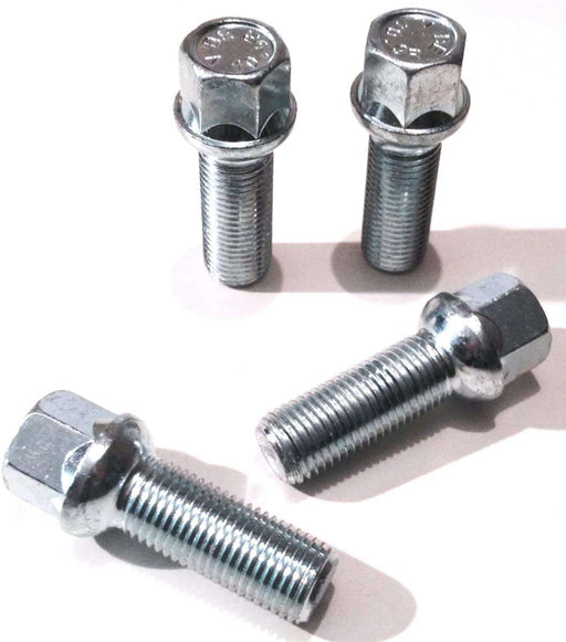 M14 x 1.5 Longer Wheel Bolts (Radius Seat) - Silver
