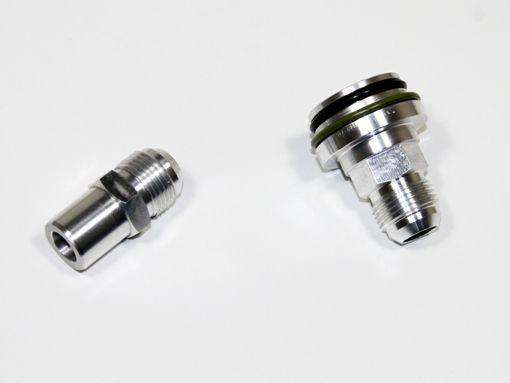 Cam and Block Breather Adaptors for Audi, VW, SEAT, and Skoda 1.8T Engines Catch Can