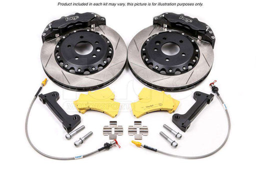 "Front Brake Kit - 356mm (Wheels 18"" or Larger) for the Audi TT Mk1 Platform 5x100-Big Brake Kits-Forge Motorsport-Stance Fittings 