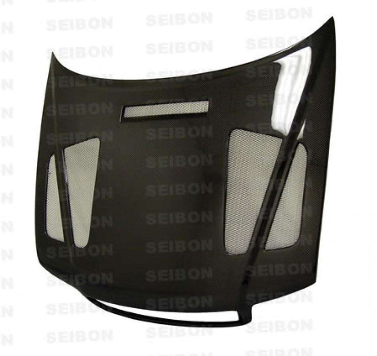 ER-STYLE CARBON FIBRE BONNET FOR 1996-2001 AUDI A4-Carbon Parts-Seibon Carbon-Stance Fittings | The Southern Stance Specialist