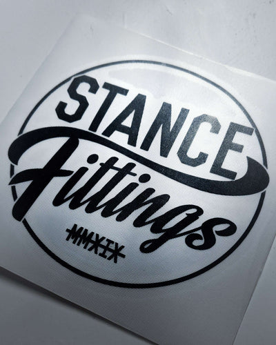 Stance Fittings Circle Decal